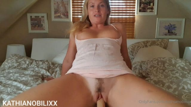 Kathia Nobili – Mom Plays With Her Son's Cock