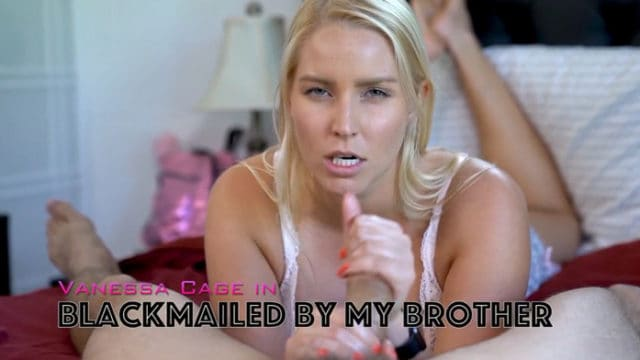 Vanessa Cage – Blackmailed by my Step-Brother
