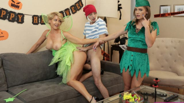 Kit Mercer, Natalie Knight – What Happened With My Stepmom On Halloween