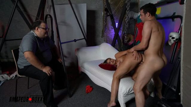 Brooklyn Chase – On Halloween My BF's Step-Dad made me Fuck his Wife